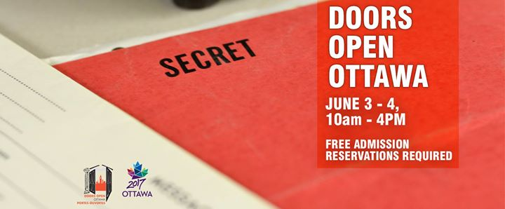 Doors Open Ottawa at the Diefenbunker \u2013 reservations required